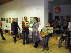 Vernisáž výstavy 16.11.2011