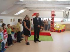 Otevření nové třídy mateřské školy