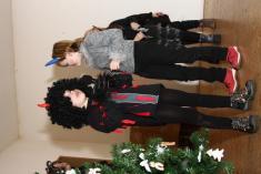 Vánoční besídka dětí z MŠ a ZŠ Vranov 2008