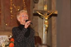Koncert Ireny Budweiserové v kostele na Vranově 26.5.2008
