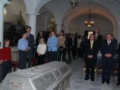 Návštěva prince Aloise z Liechtensteinska na Vranově 8.10.2007