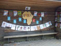 školní výstava Cesta kolem světa