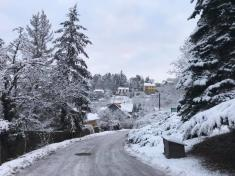 Vranov pod sněhem